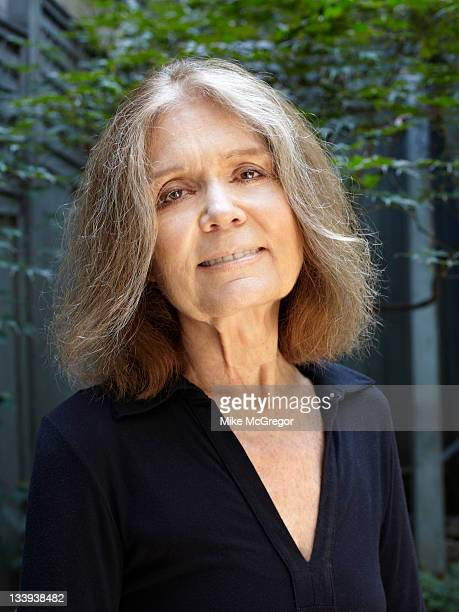 Author/activist Gloria Steinem is photographed for The Observer Newspaper on September 13 2011 in New York City COVER IMAGE