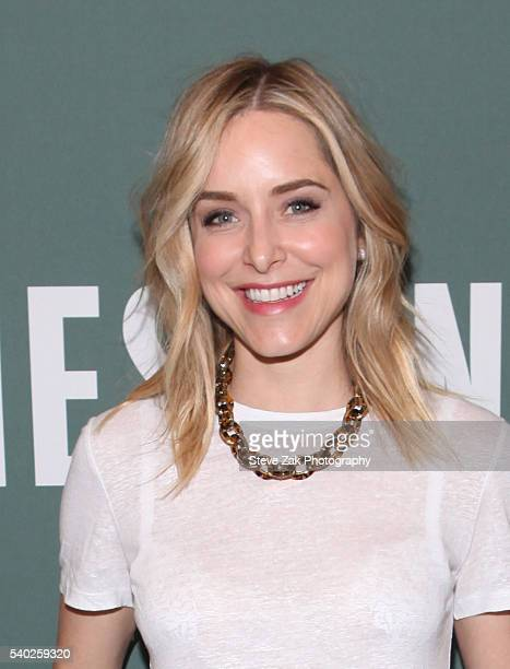 Author/Actress Jenny Mollen signs copies of her new book Live Fast Die Hot at Barnes Noble Tribeca on June 14 2016 in New York City