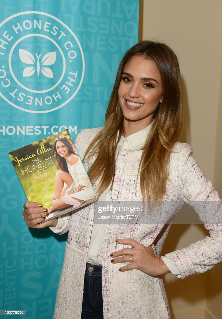 Author/actress Jessica Alba attends The Honest Company and The Moms Launch of Jessica Alba's New Book The Honest Life at the Mondrian LA on March 15, 2013 in West Hollywood, California.