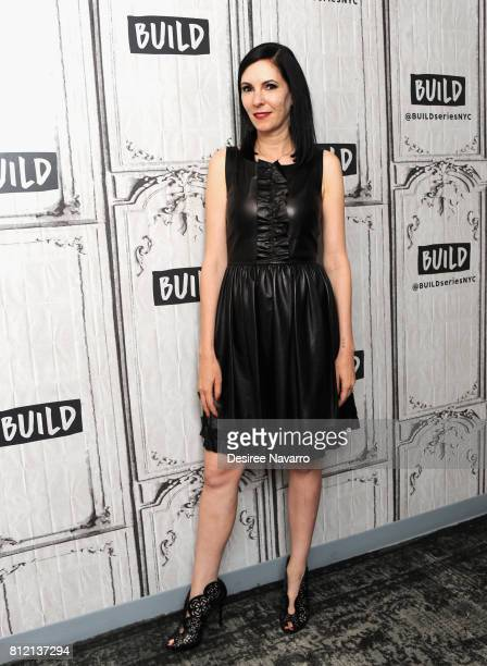 Author/actress Jill Kargman attends Build to discuss the TV Series 'Odd Mom Out' at Build Studio on July 10 2017 in New York City