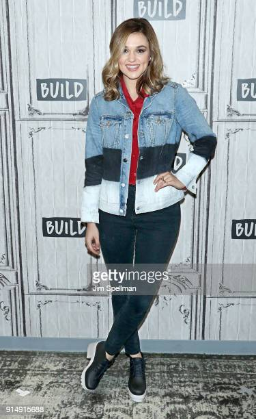 Author/actress Sadie Robertson attends the Build Series to discuss Live Fearless A Call to Power Passion and Purpose at Build Studio on February 6...