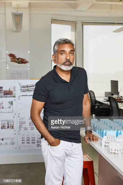 Author/architectural designer Vishaan Chakrabarti is photographed for Delta Sky Magazine on July 11 2018 in New York City