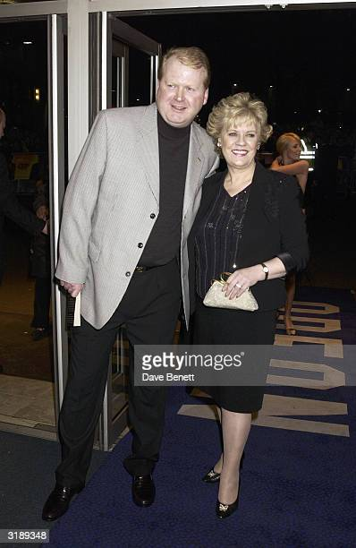Authoress Evelyn Doyle and her husband attend the UK premiere of Evelyn at the Odeon Cinema in Leicester Square on March 18 2003 in London