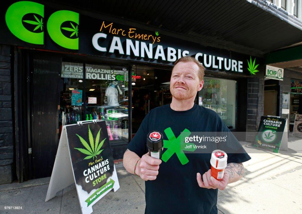 Canada To Become The Second Country To Legalize Marijuana : Fotografía de noticias