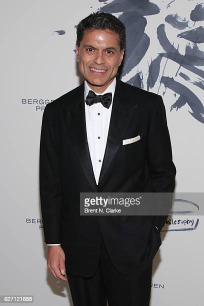 Author/journalist Fareed Zakaria attends The Berggruen Institute's 2016 Berggruen Prize Award Ceremony held at the New York Public Library on...