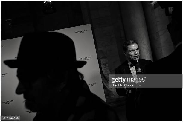 Author/journalist Fareed Zakaria speaks to the media during The Berggruen Institute's 2016 Berggruen Prize Award Ceremony held at the New York Public...