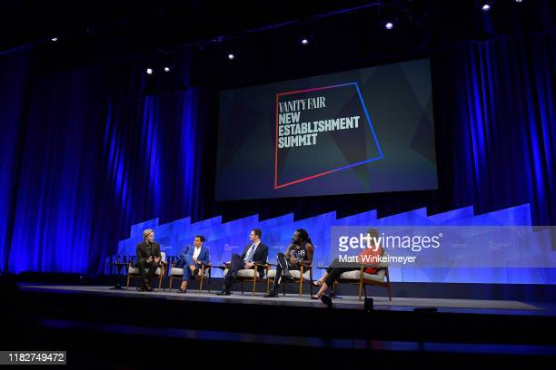 Author/journalist Ronan Farrow EditorinChief of HuffPost Lydia Polgreen Founder and CEO of Jigsaw Jared Cohen author Marlon James and Contributing...