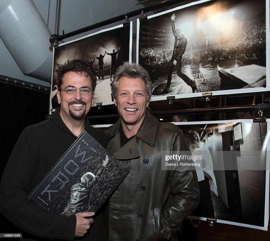 """David Bergman's """"Work"""" Book Signing Event With Bon Jovi : News Photo"""