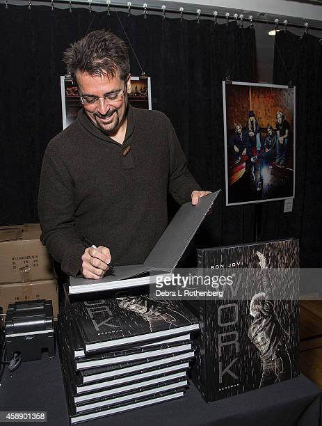 Author/Photographer David Bergman at Altman Building on November 12, 2014 in New York City.