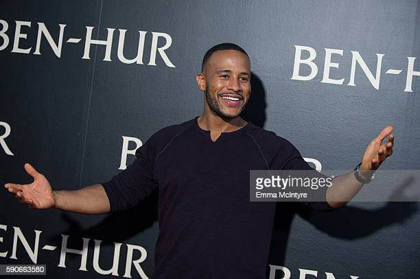 Author/producer Devon Franklin arrives at the premiere of Paramount Pictures' 'Ben Hur' at TCL Chinese Theatre IMAX on August 16 2016 in Hollywood...
