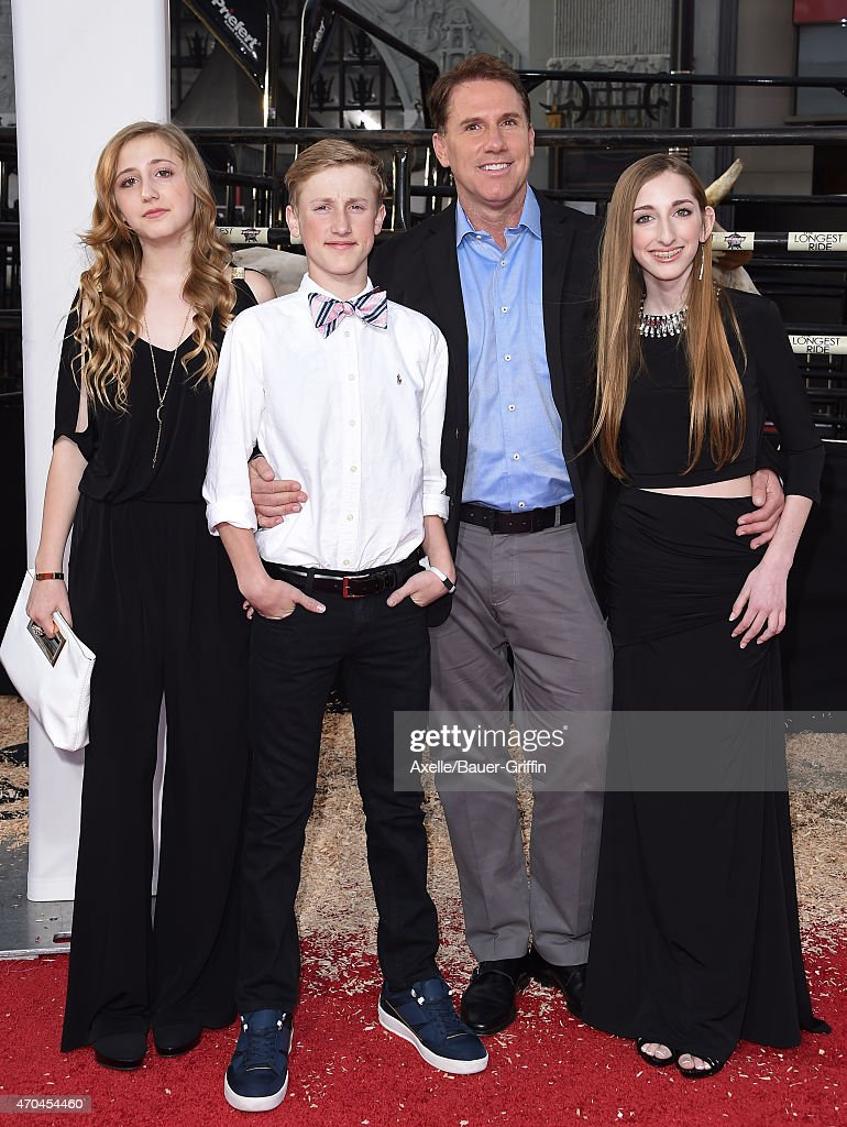Author/producer Nicholas Sparks and family arrive at the ...