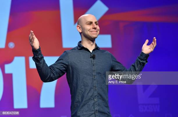 Author/professor Adam Grant speaks onstage at the Interactive Keynote during 2017 SXSW Conference and Festivals at Austin Convention Center on March...