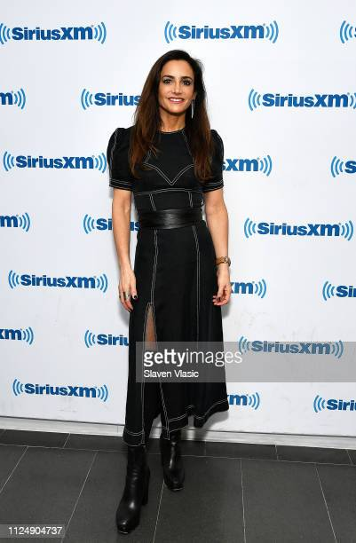 Author/radio personality Emily Morse visits SiriusXM Studios on February 14 2019 in New York City