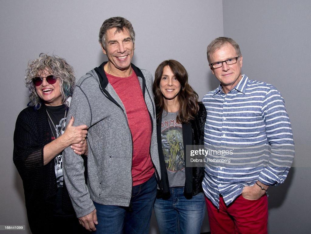 Apple Store Soho Presents: Meet the Authors: Nina Blackwood, Mark Goodman, Alan Hunter, And Martha Quinn : News Photo