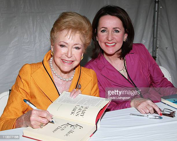 Authors Mary Higgins Clark and Carol Higgins Clark attend the 16th Annual Los Angeles Times Festival of Books Day 2 at USC on May 1 2011 in Los...