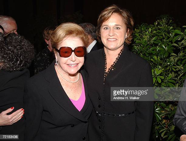 Authors Mary Higgins Clark joins Doro Bush Koch at a celebration for her book 'My Father My President' on October 11 2006 in New York City