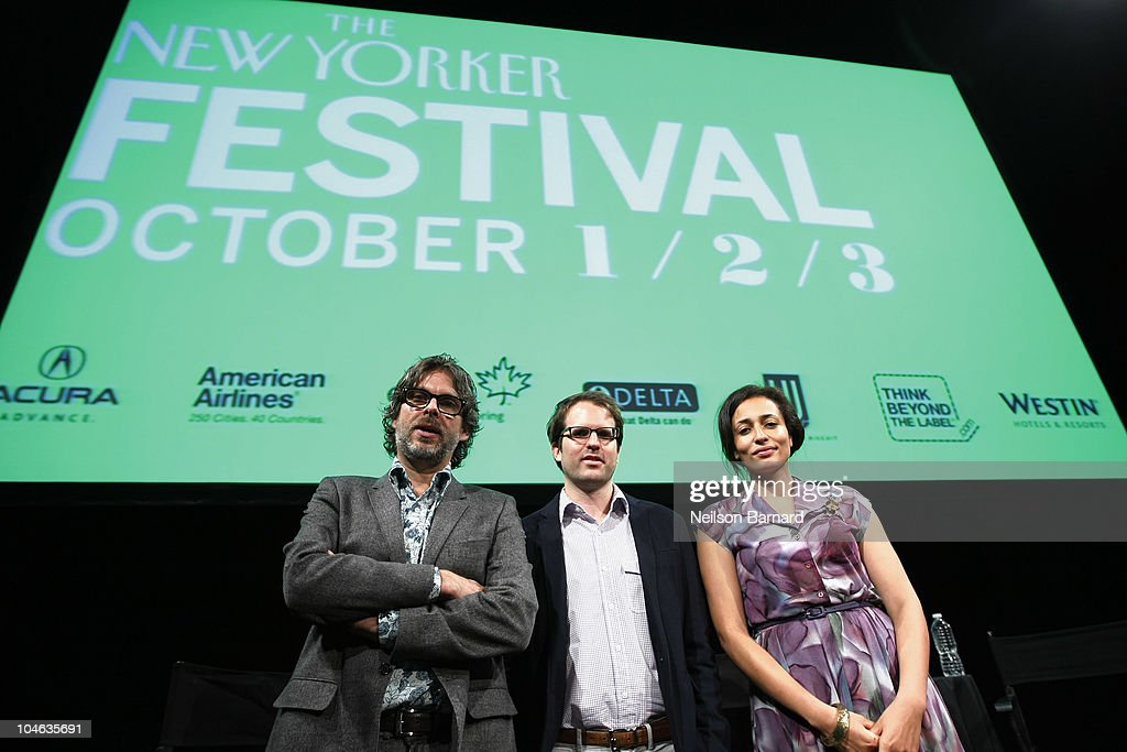 The 2010 New Yorker Festival: Fiction Night with Michael Chabon and Zadie Smith