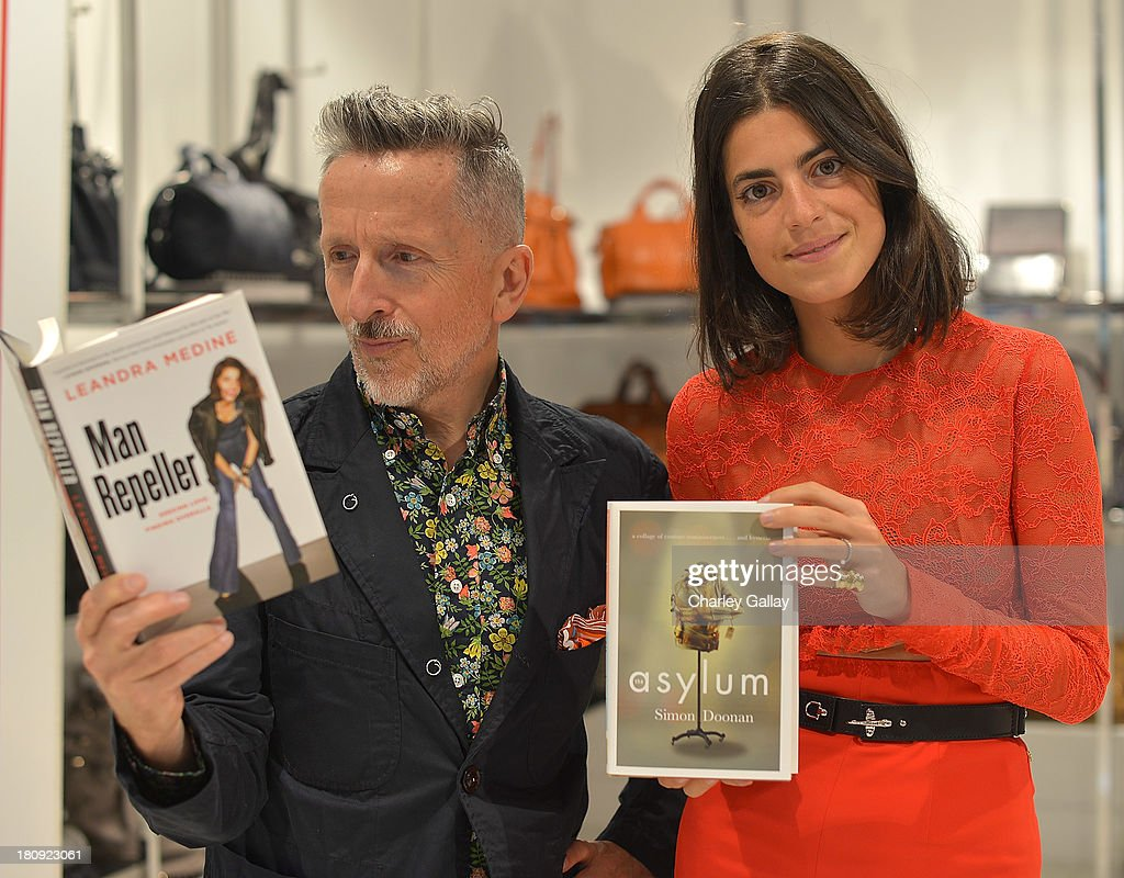 "Barneys New York Cocktail Event With Simon Doonan And ""Man Repeller"" Leandra Medine Celebrating Their New Book"