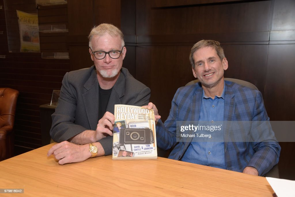 "David Fantle And Tim Johnson Celebrate Their New Book ""Hollywood Heyday"""