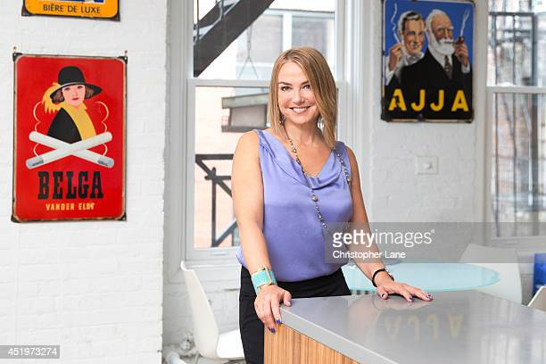 Author/therapist Esther Perel is photographed for Psychologies on October 4 2013 in New York City PUBLISHED IMAGE