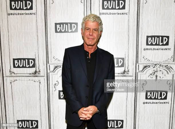 Author/TV personality Anthony Bourdain visits Build to discuss the Balvenie's 'Raw Craft' at Build Studio on October 30 2017 in New York City