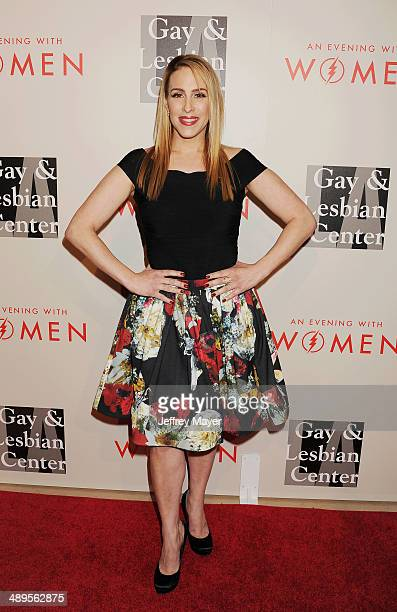 Author/TV/radio host Dr Jenn Berman arrives at the 2014 'An Evening With Women' Benefiting LA Gay Lesbian Center at the Beverly Hilton Hotel on May...