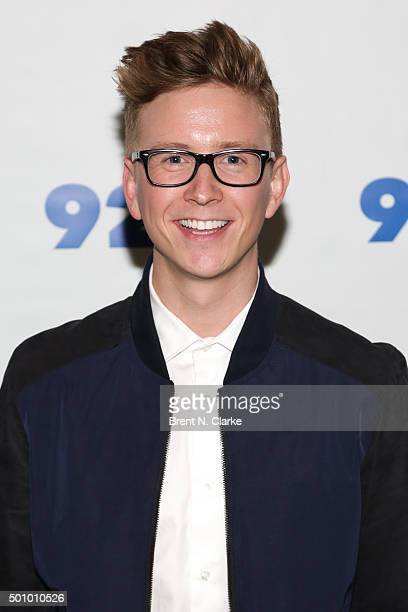 Author/YouTube personality Tyler Oakley attends 92nd Street Y Presents Tyler Oakley's 'Snervous' New York Screening held at the 92nd Street Y on...