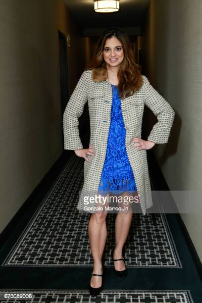 Authour and Journalist Cathy Areu attends the Paul Dee Dee Sorvino celebrate their new book Pinot Pasta Parties at 200 East 57th Street on April 25...