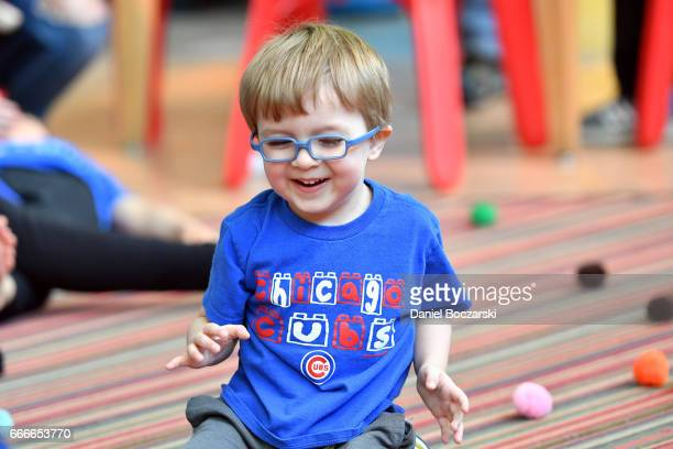 Autism Speaks Light it Up Blue Autism Awareness Celebration at Chicago Children's Museum on April 8 2017 in Chicago Illinois