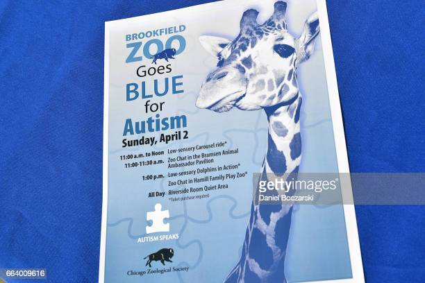 60 Top Autism Speaks Light It Up Blue Zoos Go Blue At Brookfield Zoo
