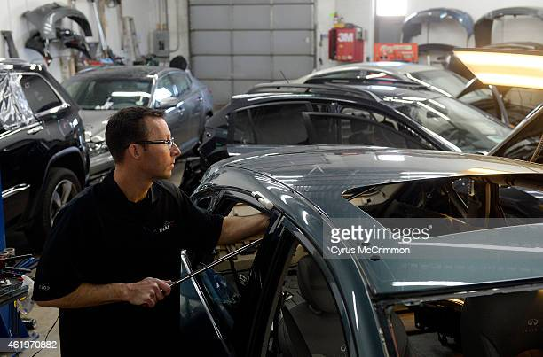 Auto body shops in the Denver metro area are packed with cars Cars with hail damage from last year and cars needing repair from the winter collision...
