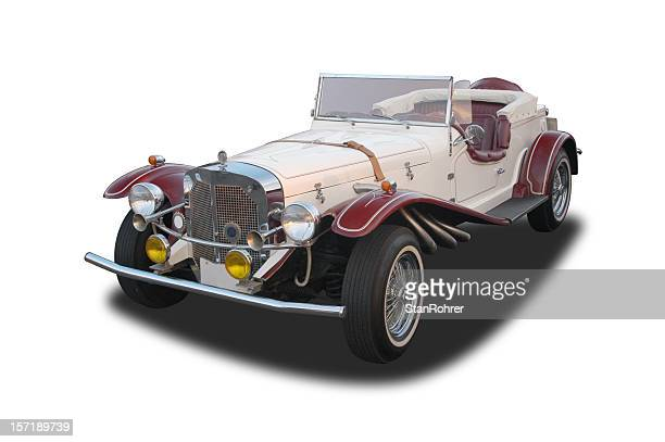auto car - 1929 mercedes benz gazelle - 1920 1929 stock pictures, royalty-free photos & images