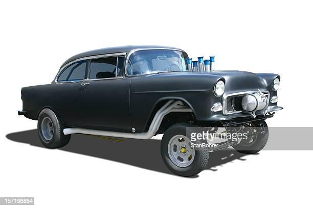 Auto Car - 1955 Chevrolet Gasser Race Hot Rod
