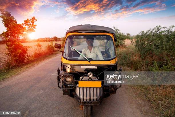 auto driver portrait outdoor in nature - commercial land vehicle stock pictures, royalty-free photos & images