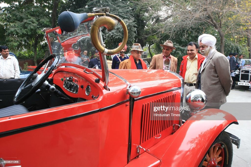 Auto Expo Classic parade during 9th Auto Show on January 8, 2008 in New Delhi, India.