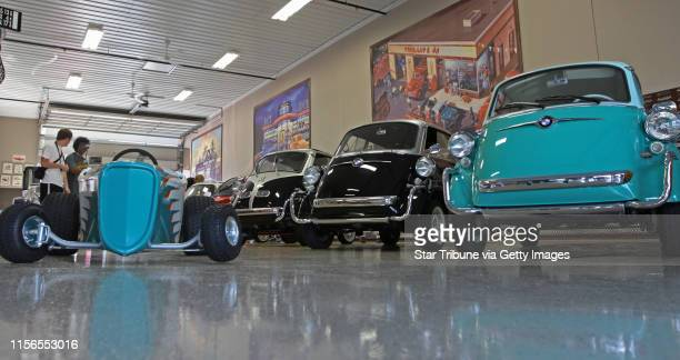Auto fans milled through the garage of Dwayne Saunders, that specializes in micro and mini cars at the AutoMotorPlex. Thousands of people attended...