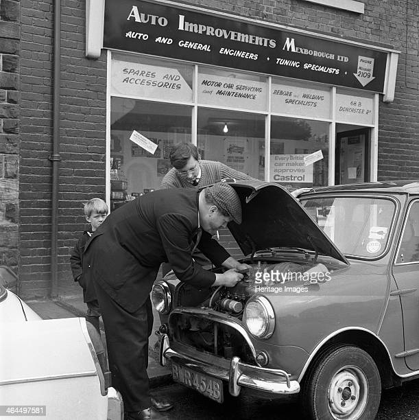 Auto Improvements Mexborough South Yorkshire 1965 Pat Wagstaff operated a garage in Mexborough for many years until he returned to his southern roots...