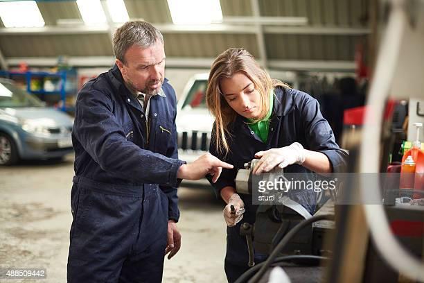 auto mechanic instruction