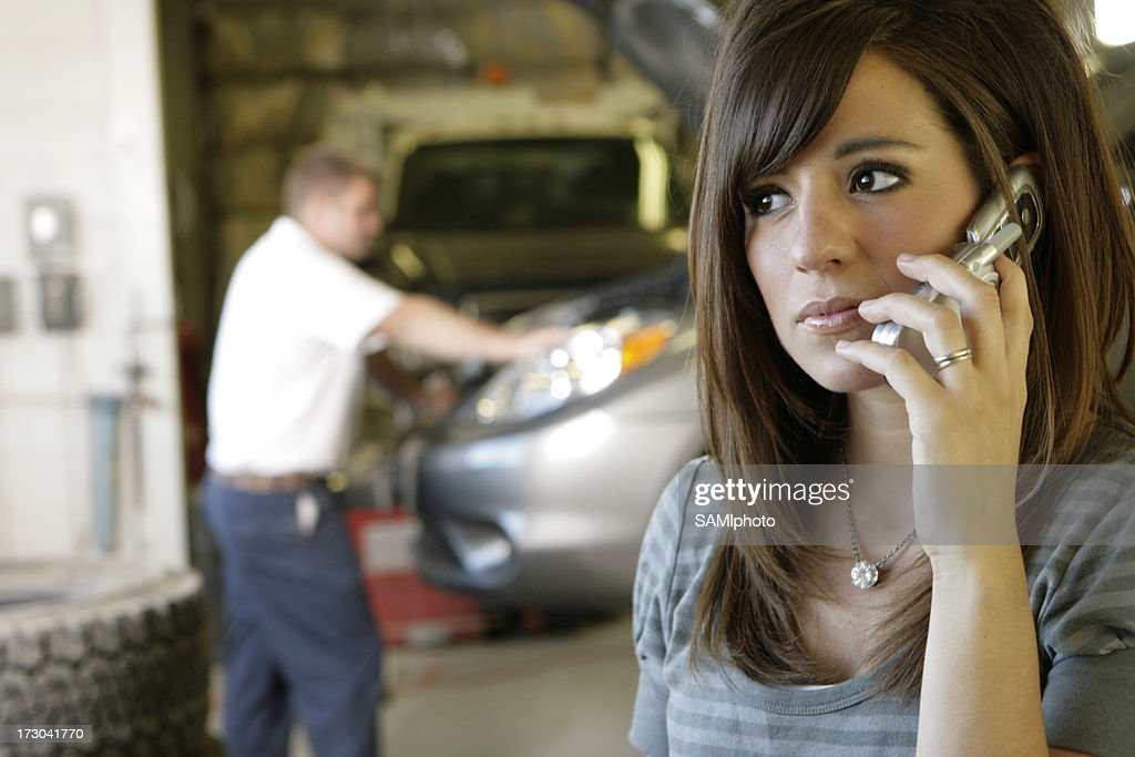 Auto Mechanic : Stock Photo
