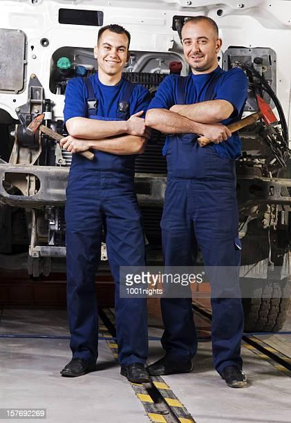 Automechaniker-Team