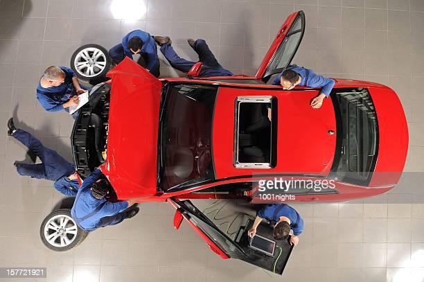 Auto-Mechaniker, Auto Reparatur des sports