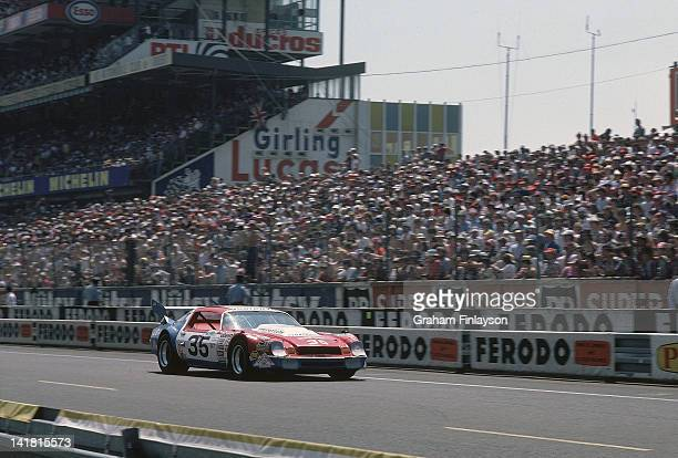 24 Hours of Le Mans Cale Yarborough in action during race at Circuit de la Sarthe Le Mans France 6/14/1981 CREDIT Graham Finlayson