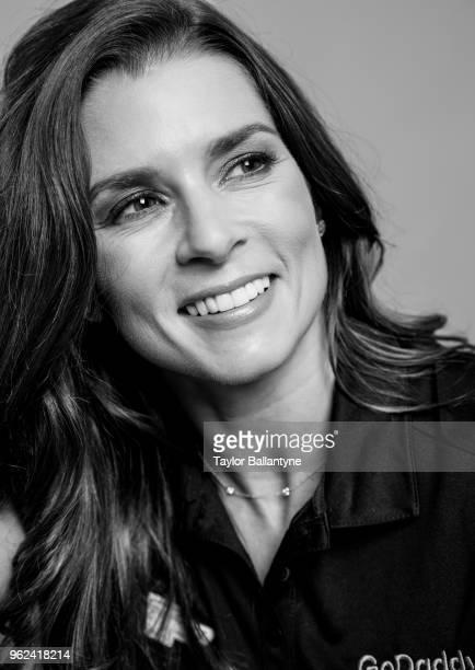 Casual closeup portrait of IndyCar driver Danica Patrick posing during photo shoot at Time Inc. Studios. New York, NY 5/22/2018 CREDIT: Taylor...