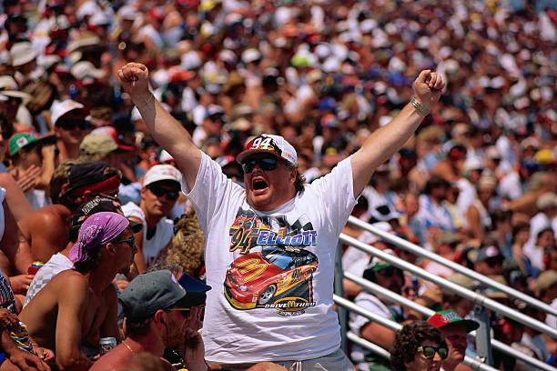 Auto Racing Fan Cheering