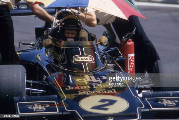 French Grand Prix Ronnie Peterson before race at Circuit Paul Ricard Le Castellet France 6/4/1973 CREDIT Neil Leifer