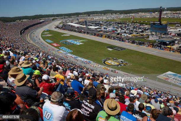 GEICO 500 Rear view of fans in stands during race at Talladega Superspeedway Monster Energy NASCAR Cup Series Lincoln AL CREDIT Kevin Liles