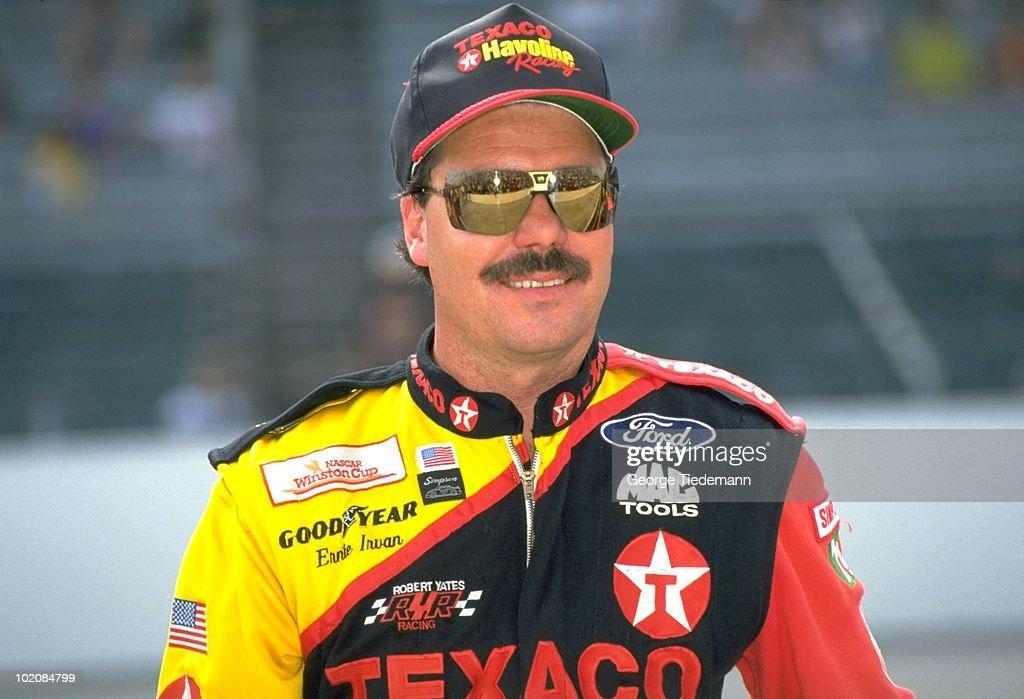 Ernie Irvan, 1994 Brickyard 400 : News Photo
