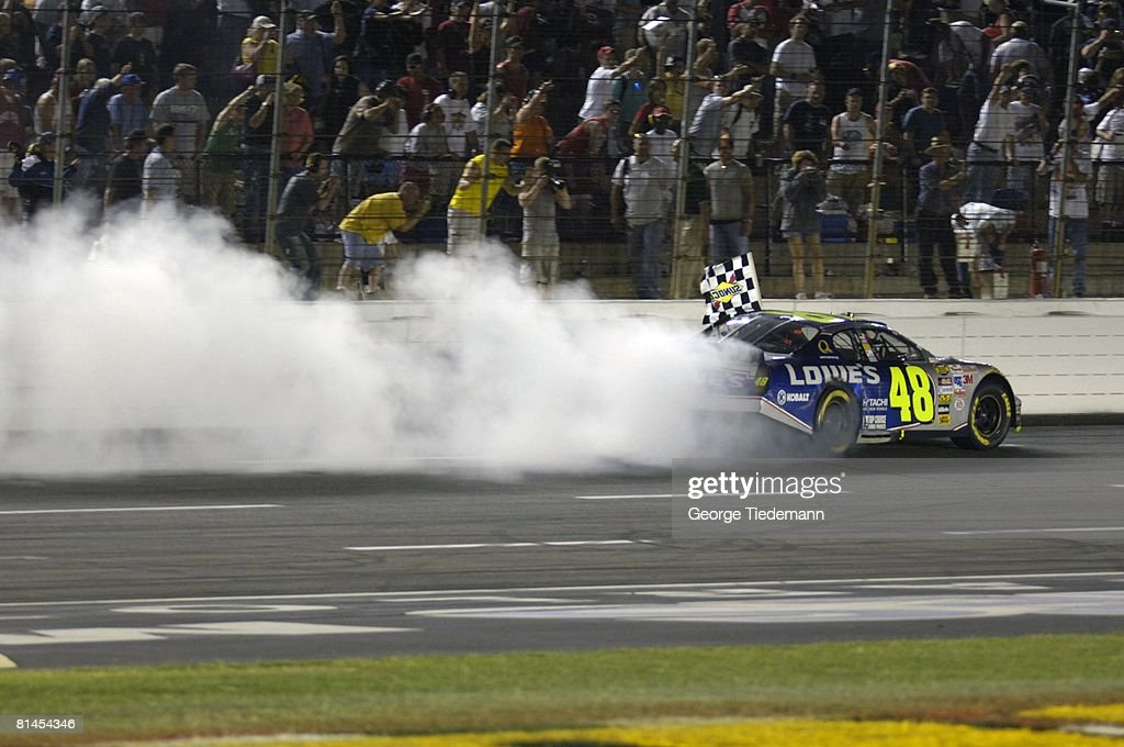 Jimmie Johnson, 2005 Coca Cola 600 : News Photo