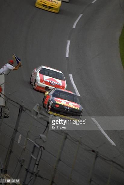 NASCAR Daytona 500 Davey Allison in action during race at Daytona International Speedway Daytona Beach FL CREDIT Bill Frakes