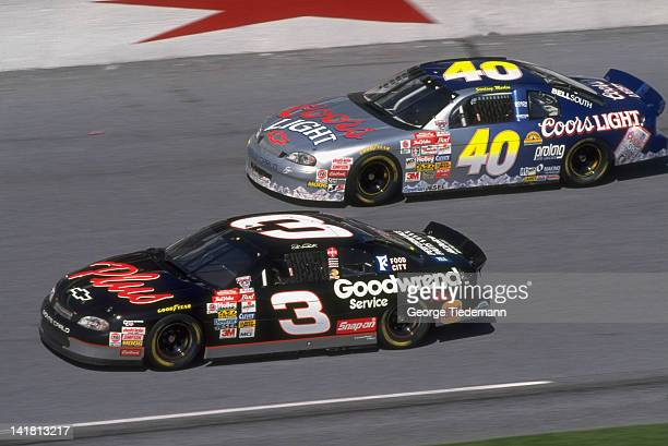 NASCAR Daytona 500 Qualifying Dale Earnhardt Sr in action at Daytona International Speedway Daytona Beach FL CREDIT George Tiedemann